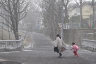 「雪が降ってきた-早く早く」 橋本 豪也(一般応募)