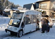 「豪雪地 自動運転車で外出支援」(3枚組) 勝又 時彦 (東京交通新聞社 社員)