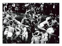 第12回 2001年 「泥祭り」(組写真) 笠井 忠宏 日本工業経済新聞社